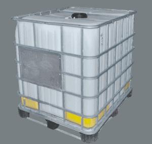 1000 Liter Chemikalien IBC